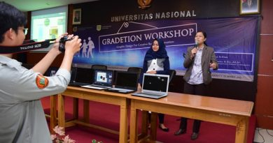 HIMAJEM UNAS Gelar Seminar Gradetion Workshop