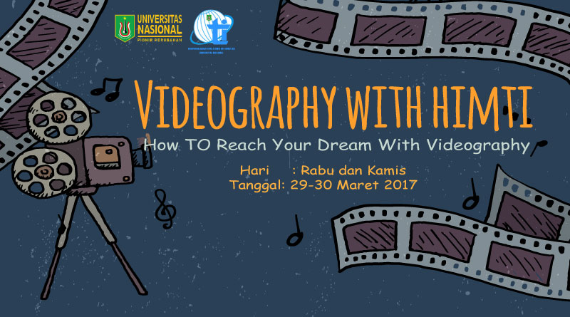 "Videography with HIMTI ""How TO Reach Your Dream With Videography"""