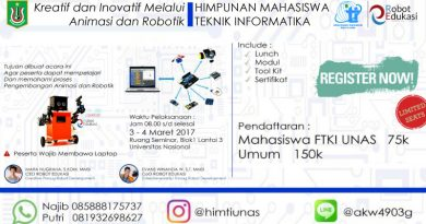 Workshop-Robotik-FTKI-UNAS-(03_04-03-2017)