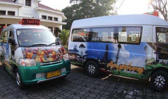 Angklung, Angkot Modern kota Bandung dengan Wifi, AC, Perpus, dan Akan Dilengkapi Transaksi E-Money