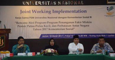Dalam Rangka Mengurangi Kemiskinan Unas Kolaborasi Dengan Kementrian Sosial