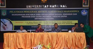 Fakultas Sastra Indonesia Gelar Pelatihan Penulisan Artikel Ilmiah