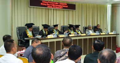 Duta Besar Indonesia untuk Tunisia, Prof Ikrar Nusa Bhakti Kagum Terhadap Lulusan UNAS