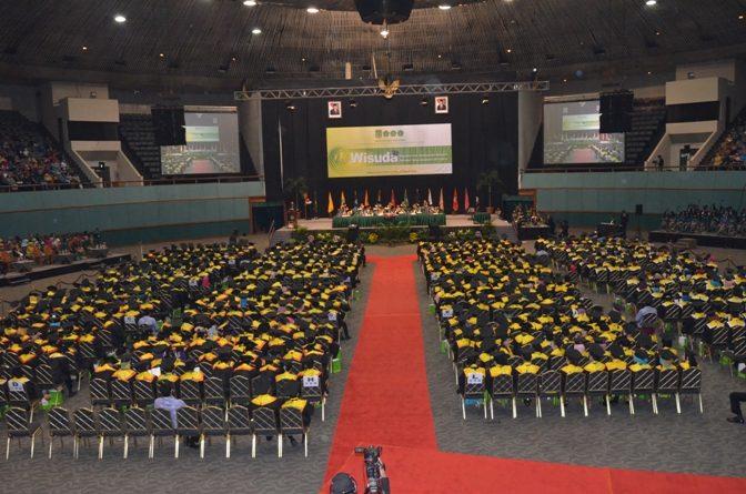 Pelantikan Wisudawan Universitas Nasional Periode 1 2014