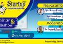 "Seminar dan Talkshow ""STARTUP WEB AND BUSINESS DEVELOPMENT"""