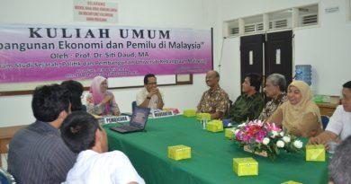 Kuliah Umum Magister Ilmu Administrasi dengan Malaysia