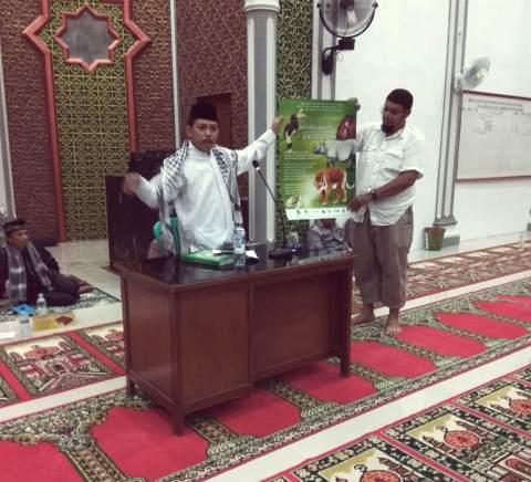 Isi Kegiatan Ramadhan PPI UNAS Sosialisasikan Fatwa di  Bentang Alam Rimbang Baling