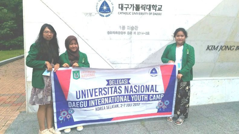 Daegu International Youth Camp 2 – 7 Juli 2017