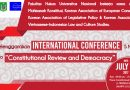 """INTERNATIONAL CONFERENCE """"Constitutional Review and Democracy"""""""