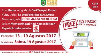 PROGRAM MERDEKA UNAS (HUT REPUBLIK INDONESIA KE 72)