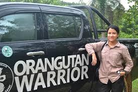 Rika Safira, Sang Penyelamat Orangutan dari Pedalaman Kalimantan