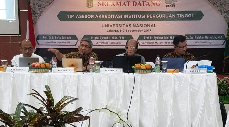 Asesor BAN PT: Borang Akreditasi UNAS Bisa Masuk Rekor MURI