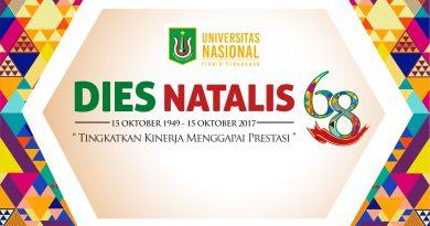 Dies Natalis Universitas Nasional ke 68 Tahun