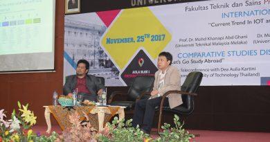 Seminar Internasional FTS, Ajak Peserta Pahami Konsep Internet of Thing Pada Sektor Medis
