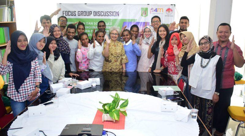 Undang Penerima Beasiswa, P4M dan UKP-PIP Gelar Diskusi Capaian Pembangunan di Papua dan 3T