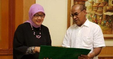 "Penyerahan Surat Keputusan BAN-PT Universitas Nasional dengan Akreditasi ""A"""