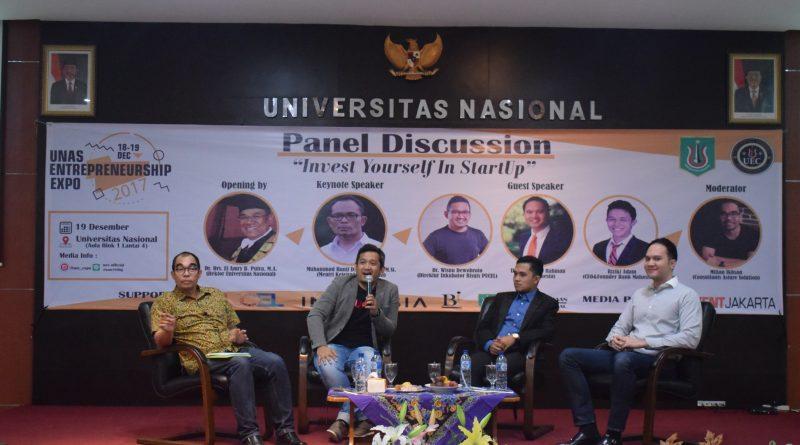 Ciptakan Peluang Bisnis Melalui Workshop UNAS Expo