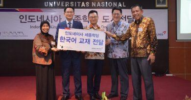 Seminar Penyerahan Buku dari King Sejong University