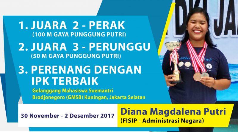 Prestasi Atlet Renang Putri - Diana Magdalena Putri