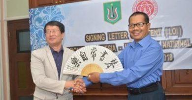 Adakan Joint Lecturing Program, UNAS dengan Kyungpook National University Tandatangani LoI