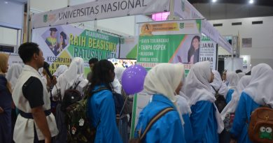 UNAS Berpartisipasi dalam Pameran Pendidikan JIEXpo