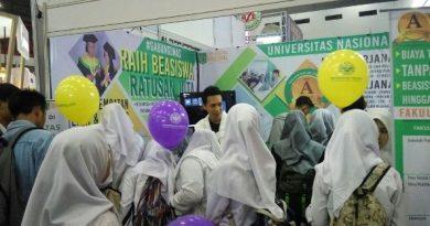Promosi Universitas Nasional di JiExpo Kemayoran 2018 6