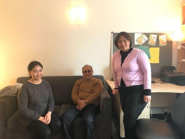 Rektor Unas mengunjungi dosen UNAS yang sedang kuliah S3 dan S2 di New Castle Uni dan Warwick University Coventry UK dengan fasilitas LPDP
