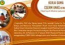 Kerja Sama CSERM UNAS dengan Playmouth Marine Laboratory, UK