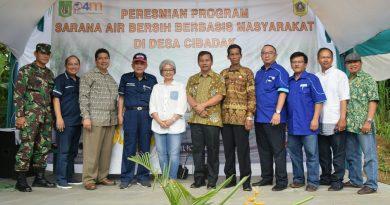 P4M UNAS Gandeng PT Rucika dan BPSA, Bangun Sarana Air Bersih  Untuk Kesejahteraan Masyarakat Desa