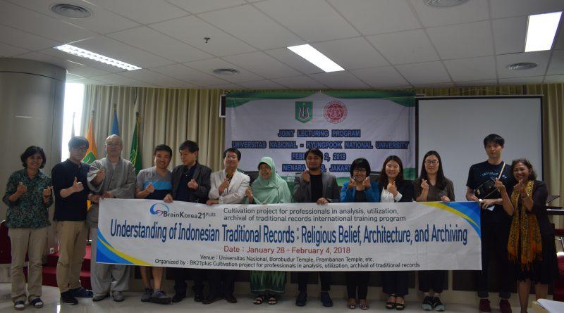 Belajar Tentang Borobudur dan Arsitekturnya,  DelegasiKyungpook National University Sambangi UNAS