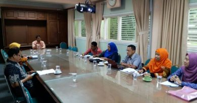 Roadshow SPMI untuk Implementasi 140 Standar yang dipimpin oleh Wakil Rektor Bidang Akademik Prof. Dr. Iskandar Fitri, ST., MT. didampingi oleh para Wakil Rektor dan Badan Penjaminan Mutu (BPM)