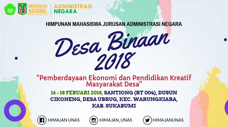 "HIMAJAN UNAS ""Desa Binaan 2018"""