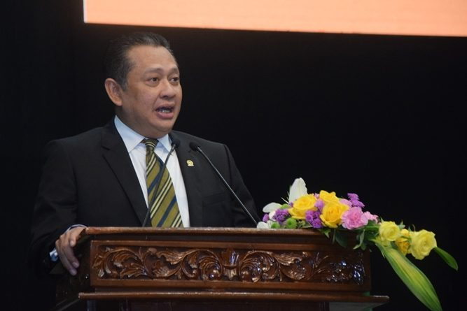 KETUA DPR RI : PERGURUAN TINGGI BERPERAN STRATEGIS  PERBAIKI SISTEM HUKUM INDONESIA