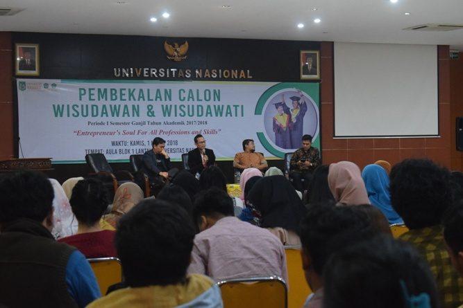Bangun Jiwa Wirausaha Wisudawan Lewat Character Building