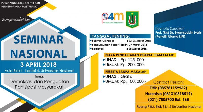 Seminar Nasional P4M