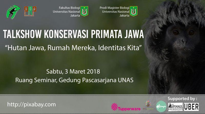 Talkshow Konservasi Talkshow Konservasi Primata Jawa (Program Studi Biologi UNAS) 2018