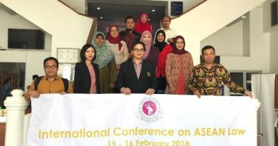 Magister Hukum Jajaki Kerjasama Dengan Chiang Mai University