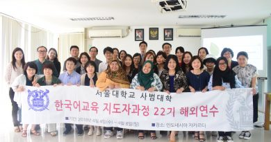 ABANAS Sambut Kunjungan Seoul National University Korea
