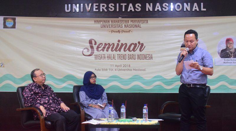 Himpunan Mahasiwa Akparnas Gelar Seminar Wisata Halal