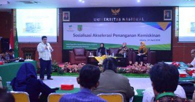 P5M Universitas Nasional Kerjasama dengan Kementerian Sosial RI Adakan Seminar Akselerasi Penanganan Kemiskinan