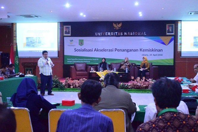 P5M Universitas Nasional Kerjasama dengan Kementerian Sosial RI Adakan Seminar Akselerasi Penanganan Kemiskinan (21)