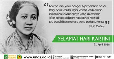 Selamat Hari Kartini (21 April 2018)