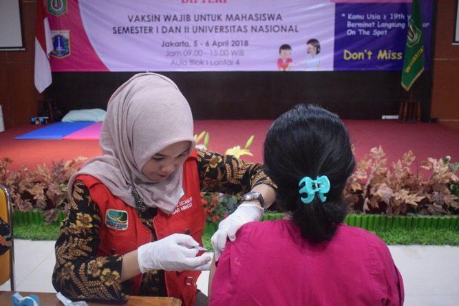 Fikes Selenggarakan ORI Difteri, Gandeng Puskesmas Pasar Minggu