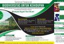 Seminar Nasional Biodiversitas Untuk Kehidupan