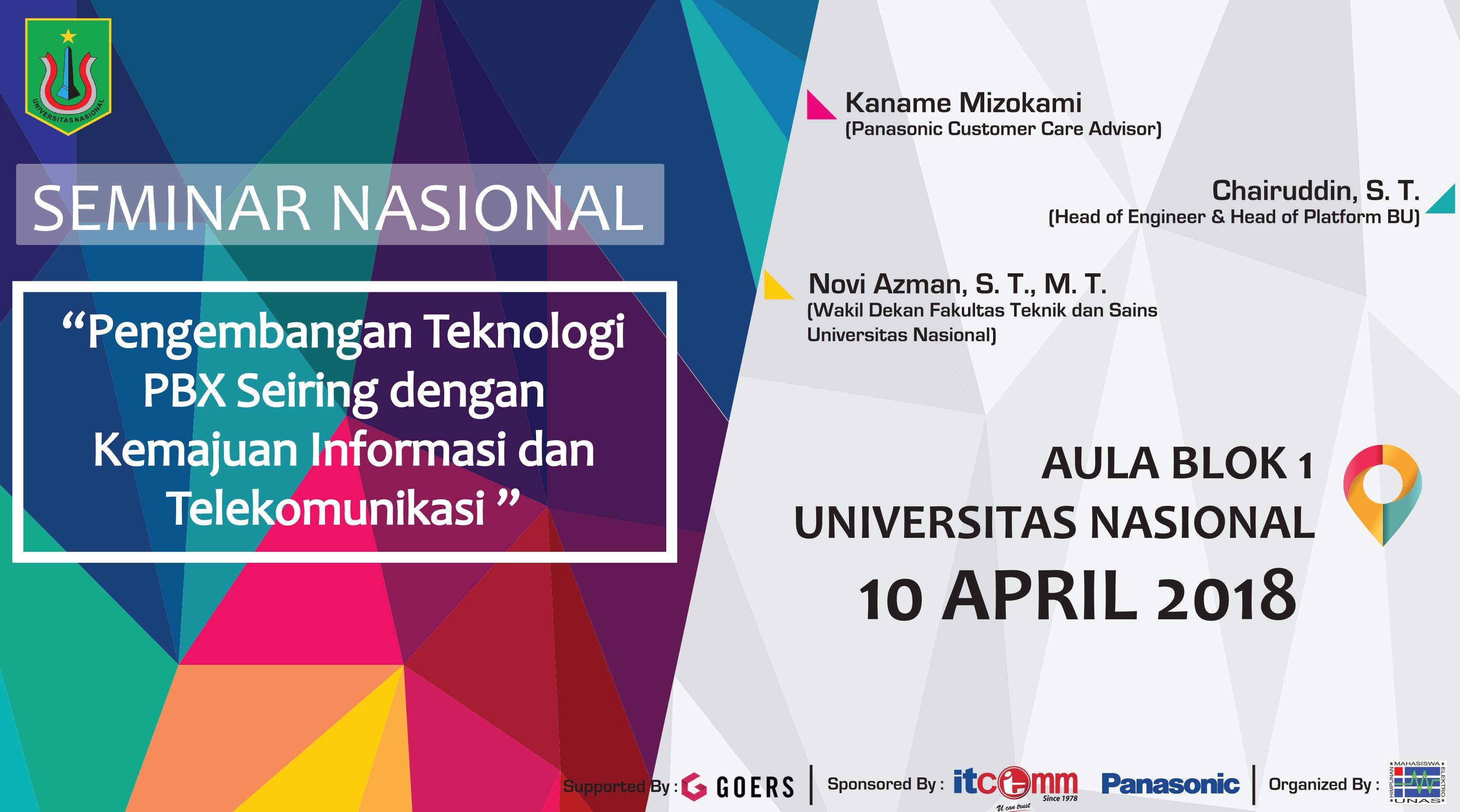 Seminar nasional pengembangan teknologi pbx seiring dengan kemajuan seminar nasional pengembangan teknologi pbx seiring dengan kemajuan informasi dan telekomunikasi ccuart Choice Image