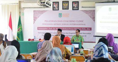 Tingkatkan Publikasi Karya Ilmiah, LPPM Gelar Coaching Clinic Penulisan Jurnal Internasional