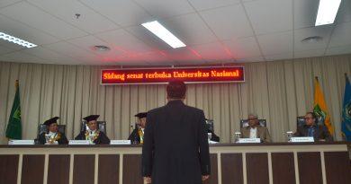 Kolonel ARH Budi Pramono Raih Gelar Doktor Ilmu Politik