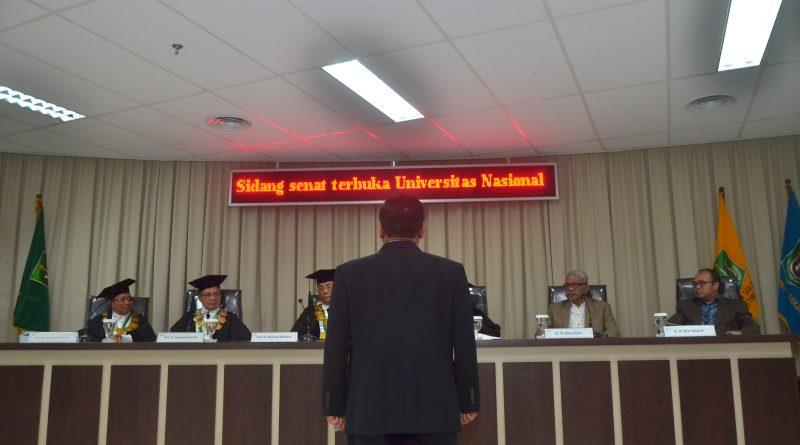 Sidang Doktoral Dr. Budi Pramono, S.IP, MM, MA.