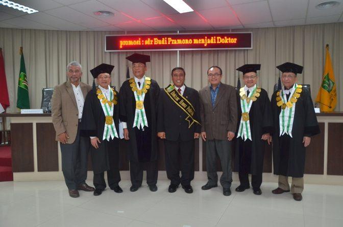 Raih Gelar Doktor, Kolonel ARH Budi Pramono Singgung Penanganan Terorisme