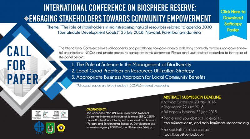 International Conference on Biosphere Reserve